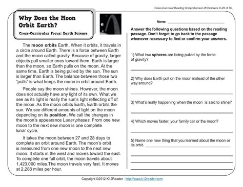 printable english worksheets 3rd grade reading comprehension worksheets for 3rd grade worksheets