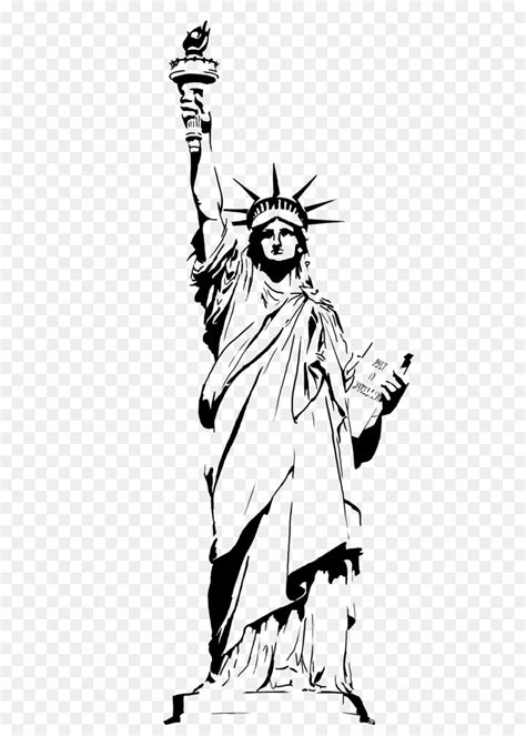 drawing clipart statue of liberty drawing clip statue of liberty