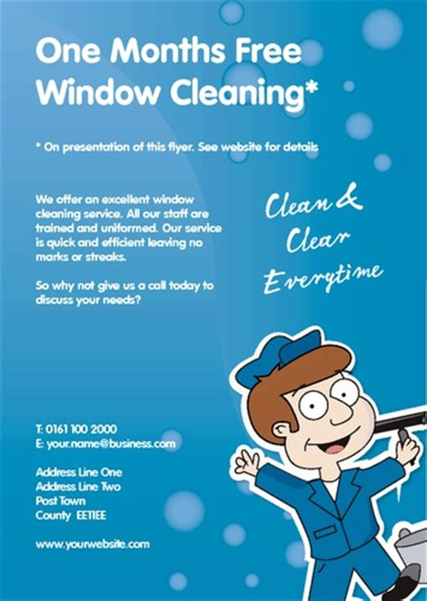window cleaning templates free print templates printing
