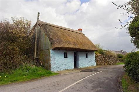 Cottage Roof Thatch Roof Cottage Galway By Leclerc Photography