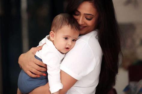 shweta tiwari mother shweta tiwari with her son reyaansh here are some candid