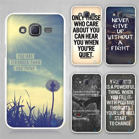 Promo Samsung Galaxy J2 White Terlaris quote design inspirational phrase white plastic cover for samsung galaxy j1 j2 j3 j5