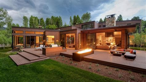 pictures of contemporary homes aspen estate offers 2 distinct homes for 16 9 million
