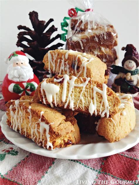 cake mix biscotti cake mix biscotti w craisins white chocolate living
