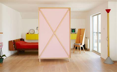 Wardrobe Room Divider Studiomama S Metamorphic Wardrobe Turns Into A Room Divider