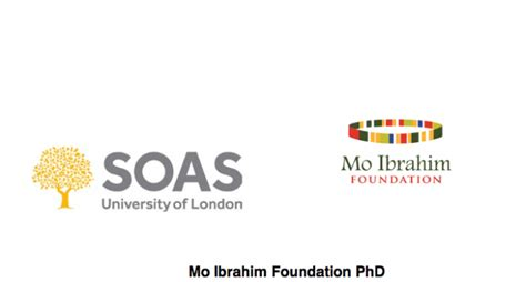 Of Missouri Mba Application Deadline by Mo Ibrahim Foundation Phd Scholarships 2018 2019 For Study
