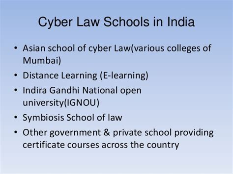 Indira Gandhi National Open Distance Education Mba Courses by Cyber Law2