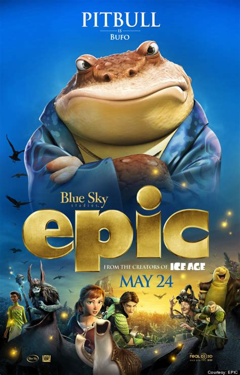 epic film voices pitbull in new animated movie epic and music tour with