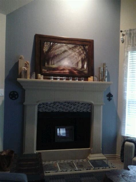 my fireplace accent wall home design