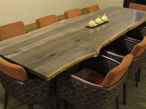 Western Conference Table A Story Of Salvation Big Leaf Maple Live Edge Slabs