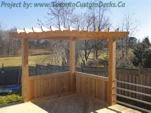 Pergola Railing Design by Walkout Patio Deck With Stainless Steel Railings And