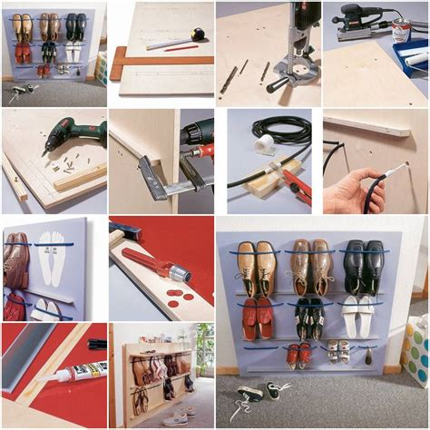 how to make space how to make space saving shoes rack step by step diy