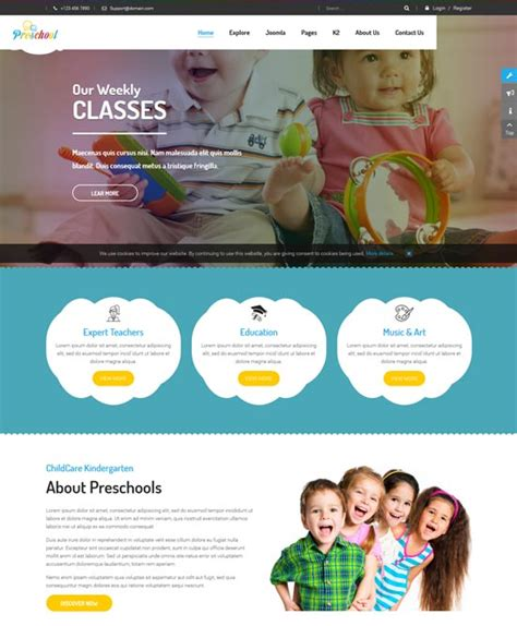 free education joomla templates 40 best education joomla templates free and premium
