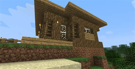 started in house start survival house minecraft project
