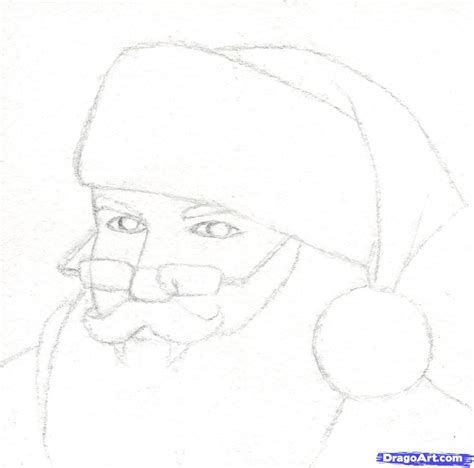 Gogh Drawing And Sketch Paper 40 Sheets 21 X 297 Cm step 3 how to draw santa realistic santa