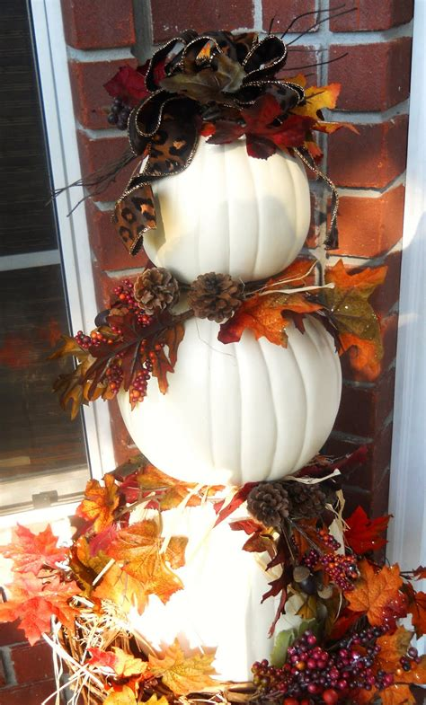 pumpkin topiary ideas fall pumpkin topiary tutorial thanksgiving ideas juxtapost