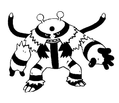 Pokemon Coloring Pages Electivire | image gallery electivire pokemon