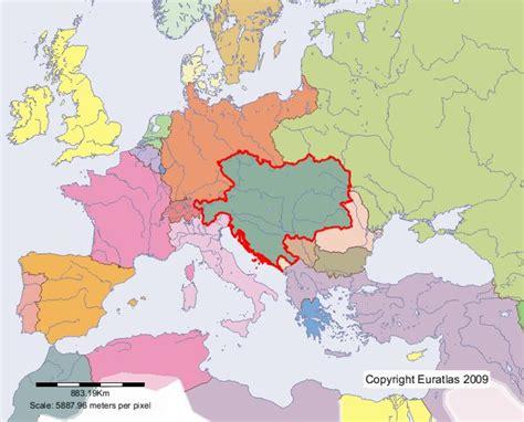 austria hungary map 1900 euratlas periodis web map of austria hungary in year 1900