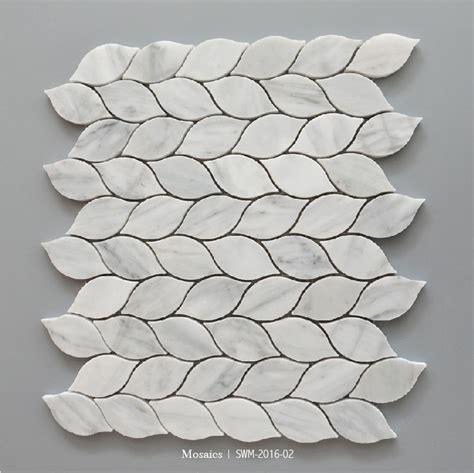 Kitchen Backsplash Stone Tile beautiful leaf shape backsplash mosaic tile buy leaf