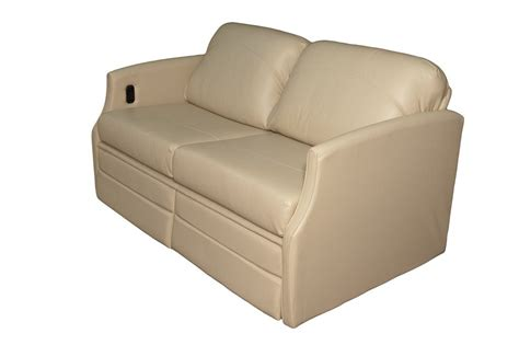 sofa sleeper for rv flexsteel 4615 sleeper sofa w dual footrests glastop inc