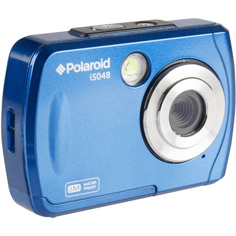 polaroid blue polaroid is048 digital blue is048 blue b h photo
