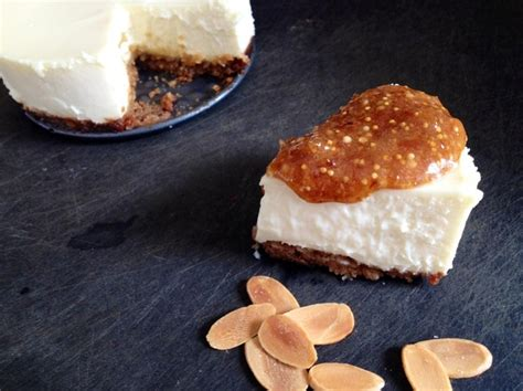 goat cheese cheesecake from the pastry dungeon goat cheese cheesecake with fig