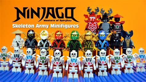 Lego Lele 79115abcd 1 4 Set Chima lego ninjago masters of spinjitzu vs skeleton warriors