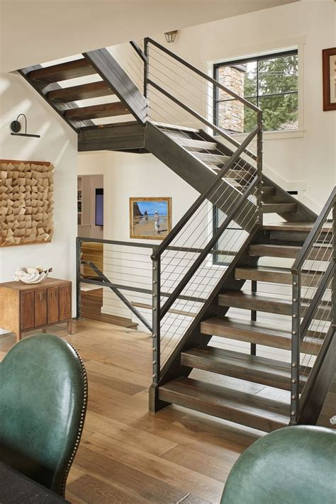 basement stair designs 25 best ideas about open staircase on