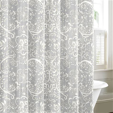 nautica shower curtains nautica lamberts cove gray shower curtain from