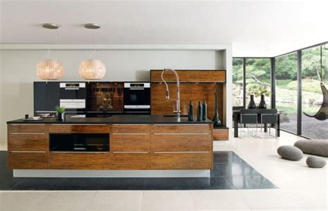 modern wood kitchens modern kitchens 25 designs that rock your cooking world
