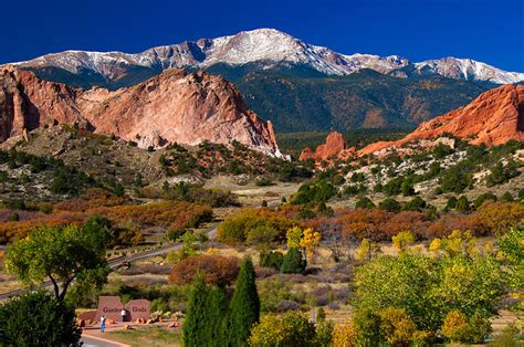 Garden Of The Gods Colorado Springs Co by Attractions In Colorado Travel
