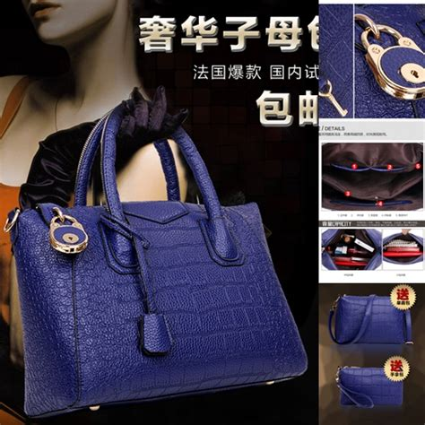 B8631 Tas Tangan Set 3in1 Fashion Import Wanita b1034 blue 3in1 tas fashion 2016
