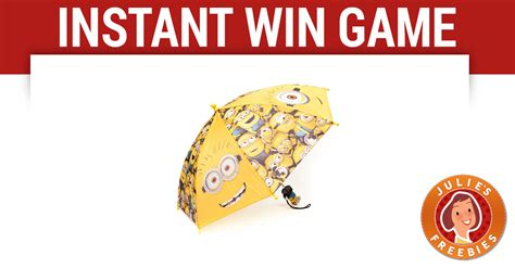 Your Daily Freebies Instant Win - tictac minions instant win game julie s freebies