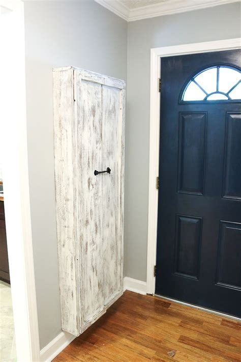 closet simple storage design ideas  broom closet
