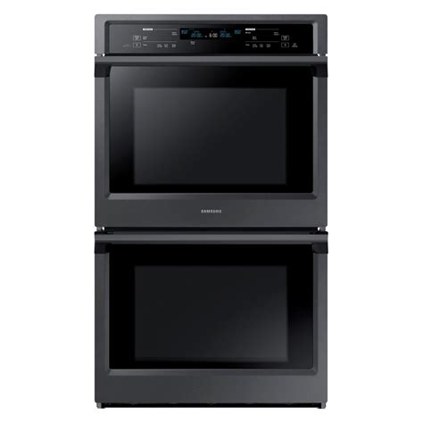 Oven Samsung samsung 30 in electric wall oven self cleaning with steam cooking and true convection in