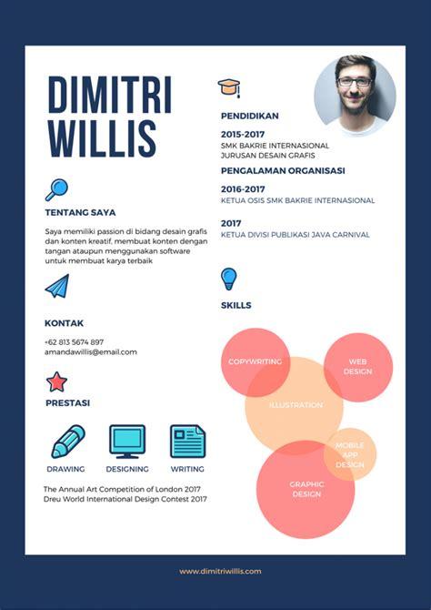 bahasa indonesia nya layout 5 contoh cv menarik pasti mengantarkanmu kemeja wawancara