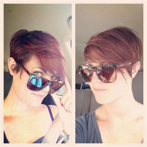 haircut to a beautiful brunette pixie youtube 217 best brunette pixie cuts images on pinterest