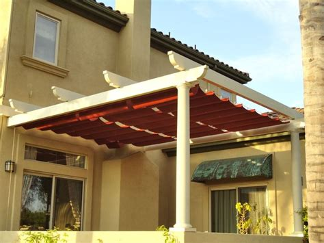 superior awnings slide wire canopy superior awning southern california
