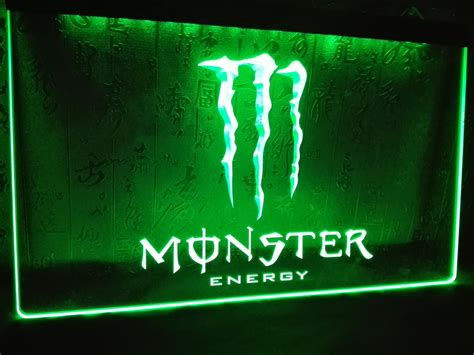 white neon light sign le207 energy drink led neon light sign home decor crafts
