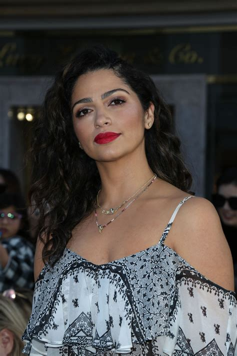camila alves camila alves at rebecca minkoff fashion show in los
