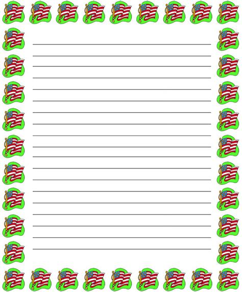 search results for christmas writing paper with border