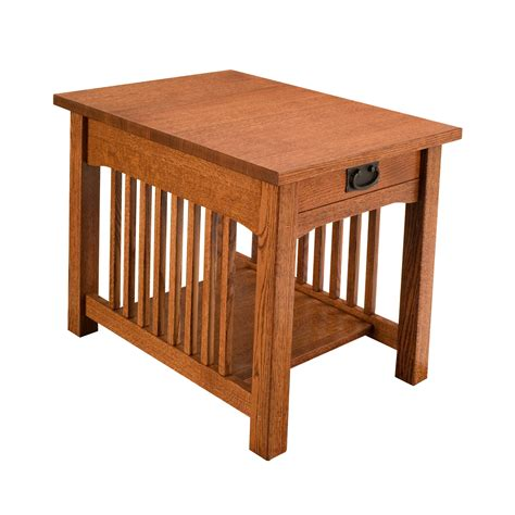 mission accent table craftsman usa 1001 mission end table atg stores
