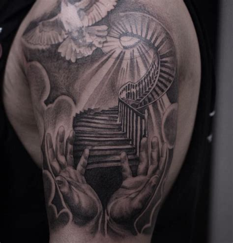 gateway to heaven tattoo designs 25 best ideas about religious tattoos on