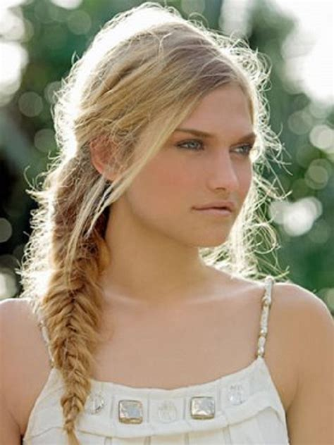 Summer Hairstyle Fishtail Braid   Women Hairstyles