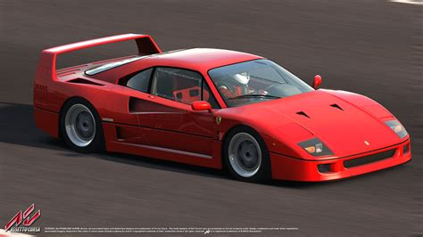 ferrari f40 ferrari f40 official license assetto corsa