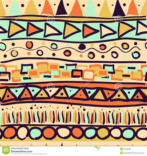 free mexican pattern background seamless pattern in the mexican stock vector