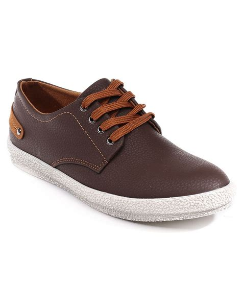 buy numero uno brown casual shoes for snapdeal