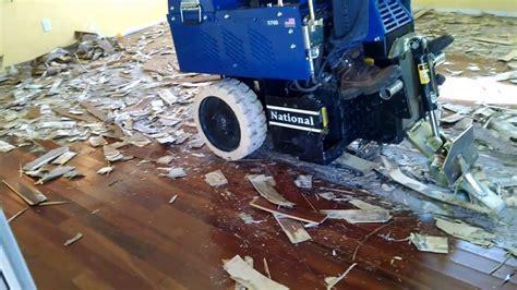 Removal of Glue down Wood Flooring in Phoenix Scottsdale