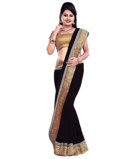 A Looka Looksome New Products by New Look Saree Faux Georgette Saree Buy New Look