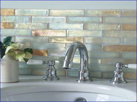 ivory iridescent glass mosaic tile kitchens pinterest